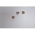 Пружина сжатия (конусная) 0,8х3х10х9,3 ст. БрКМц3-1 (бронза)