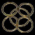 Кольца из стальной проволоки 3х100