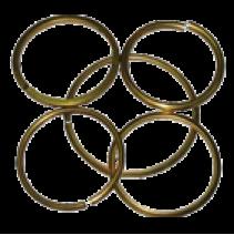 Кольца из стальной проволоки 3х300