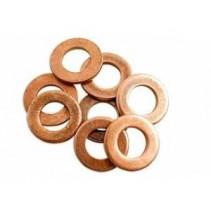 Кольцо уплотнительное медное 10х14х1,5