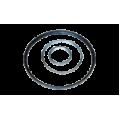 Металлические кольца 3х100
